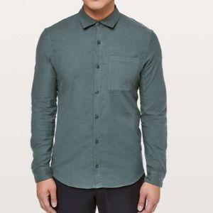 Lululemon all town button down shirt